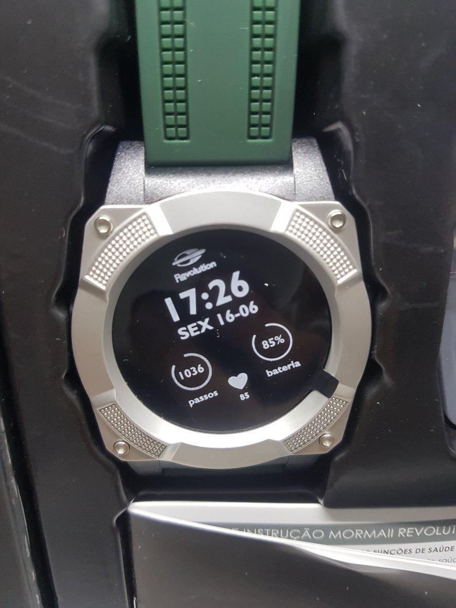 c166d16838315 relógio mormaii revolution masculino smartwatch mosraa 8c. Carregando zoom...  relógio mormaii masculino. Carregando zoom.