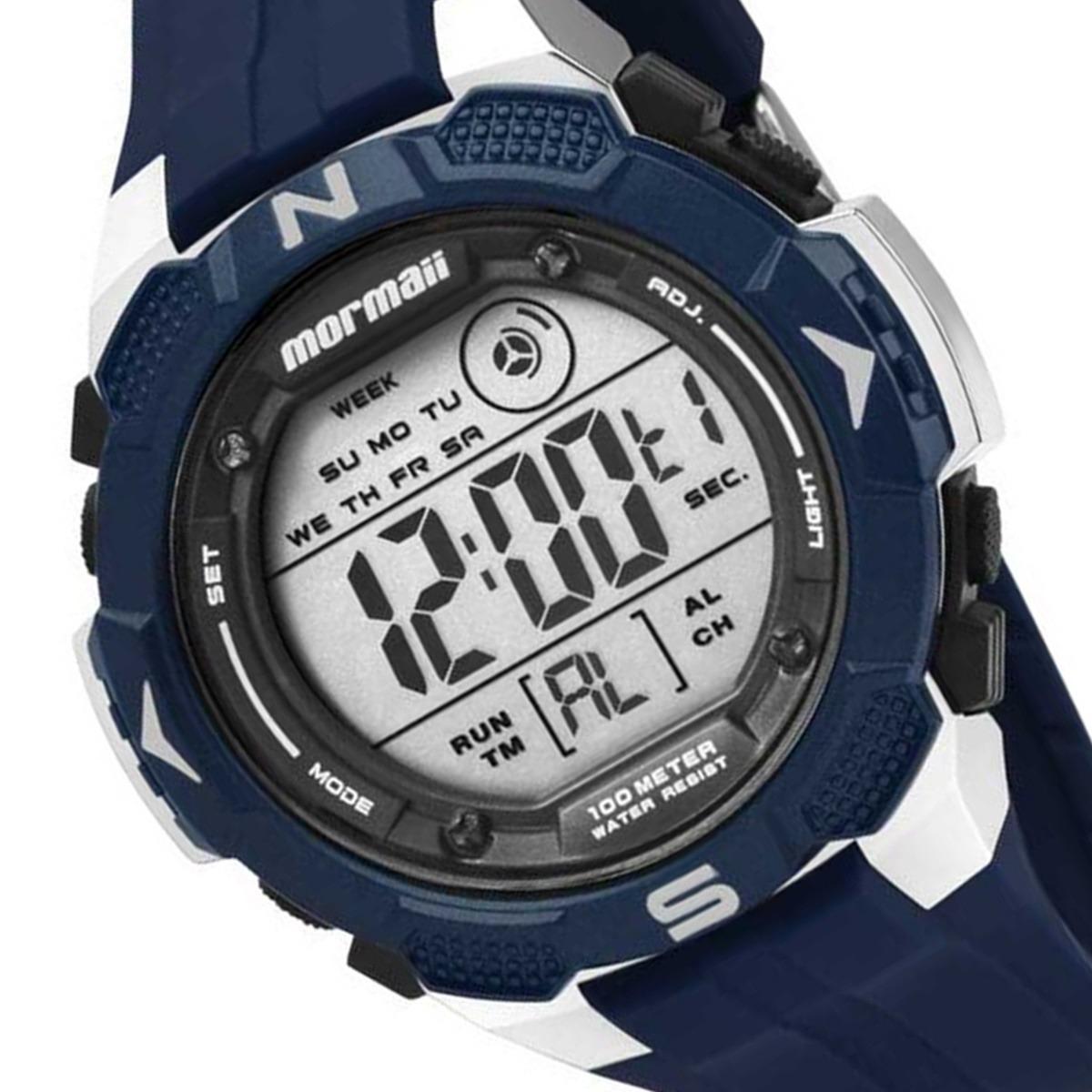f4f48d52d41 Relógio Esportivo Mormaii Masculino Digital 100m Mo2908 8a - R  238 ...