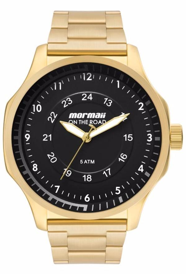 Relógio Mormaii On The Road Masculino Mo2035gz 4d - R  266,75 em ... d5e7822109
