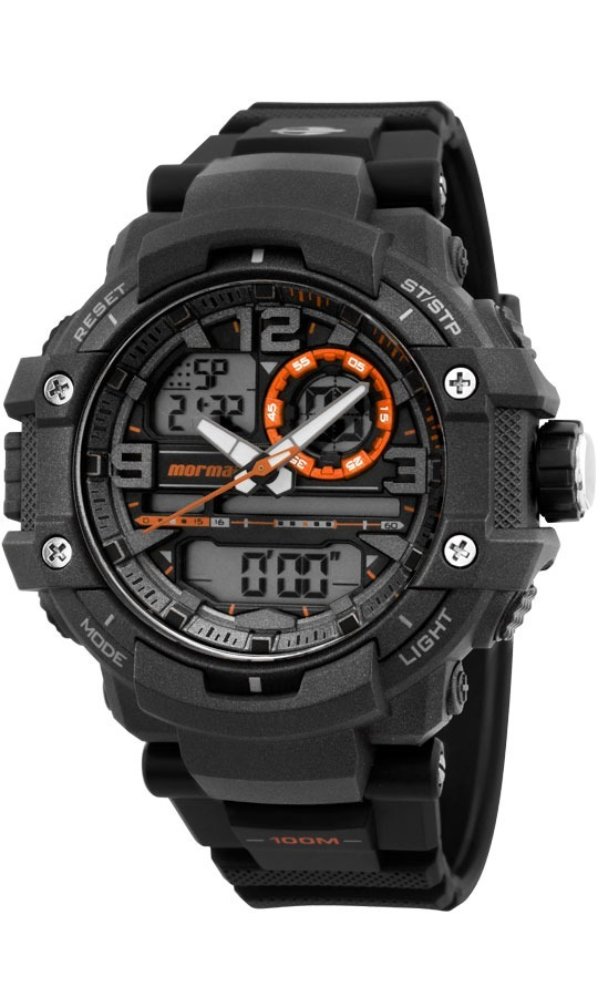 Relógio Mormaii Masculino Acqua Action Anadigi Mo0949 8l - R  368,40 ... 3306f6f87f