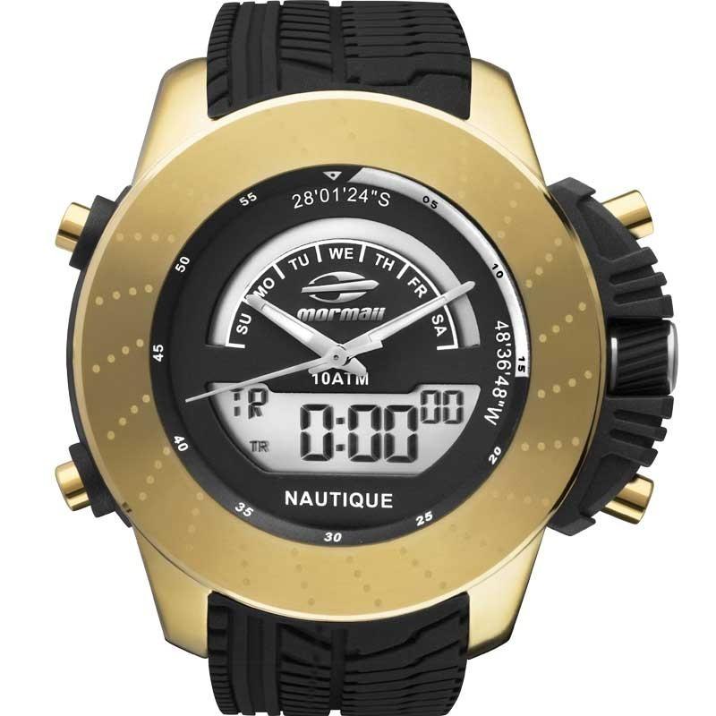 59c3258177e8d relógio mormaii masculino acqua pro mergulhador 100m - nf. Carregando zoom.