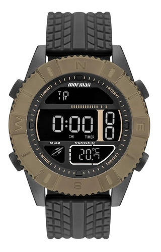 relógio mormaii masculino acquaforce coyote - technos c/ nfe