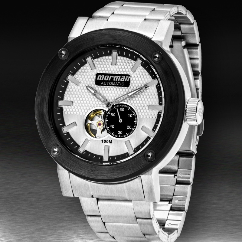 85a84775409ed relógio mormaii masculino automatic mo82s0aa 3k. Carregando zoom.