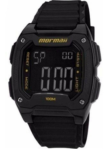 relógio mormaii masculino digital acqua mo11516b/8y - c/ nfe