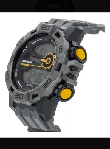 relógio mormaii masculino digital esportivo mo 1148ac/8c