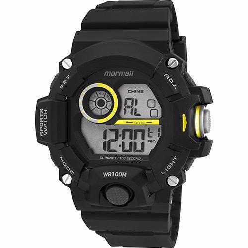 b21d1f55529 Relógio Mormaii Masculino Digital G Shock Wr 100m Mo3412 8y - R  218 ...