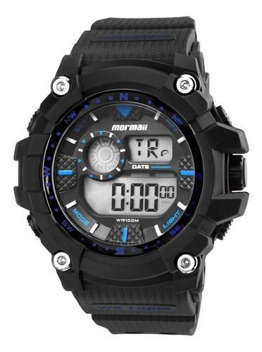 relógio mormaii masculino digital mo3530a/8a