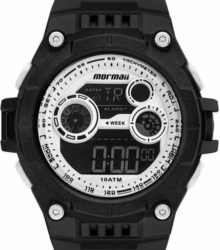 relógio mormaii masculino digital  mo9000d/8b