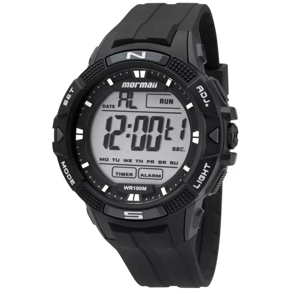 Relógio Mormaii Masculino Digital Preto Mo5001 8c Original - R  135,00 em  Mercado Livre 5a50df1f6e