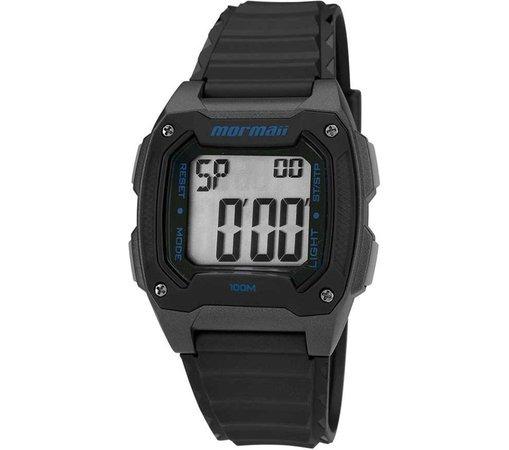 7a0a9dba107 Relógio Mormaii Masculino Digital Preto Quadrado Mo11516a 8a - R  139