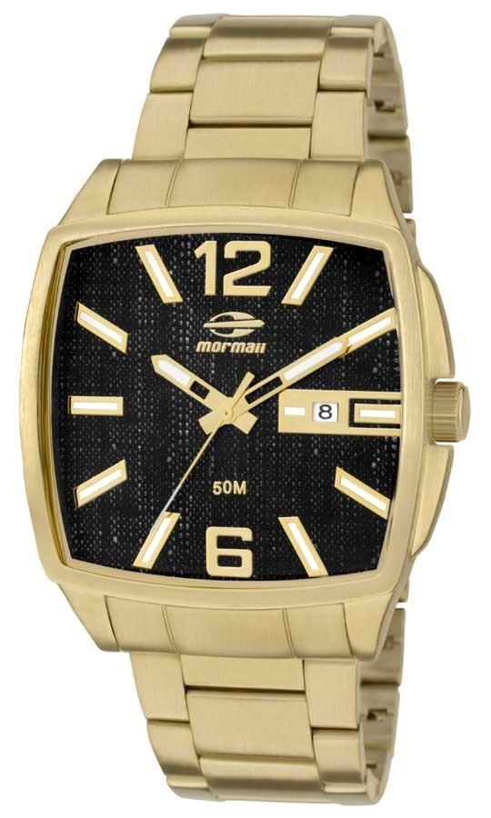 8c8ba809c0e relógio mormaii masculino dourado quadrado mo2315zn 4p. Carregando zoom.