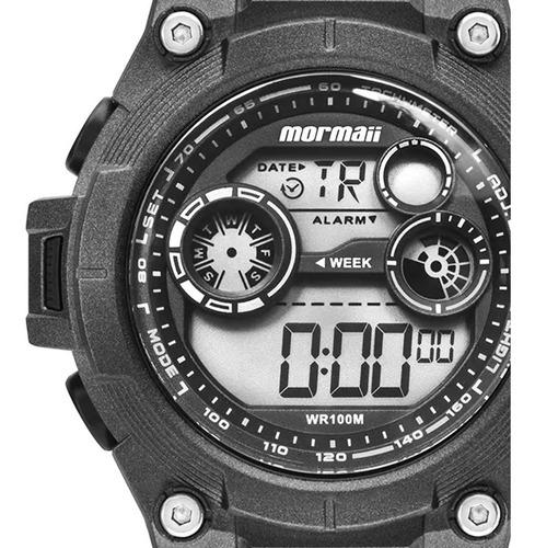 relógio mormaii masculino esportivo digital acqua 100m nfe