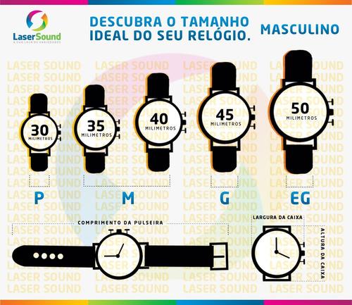 relógio mormaii masculino mo1001/8r, c/ garantia e nf