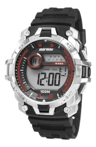 relógio mormaii masculino mo11270ab/8r