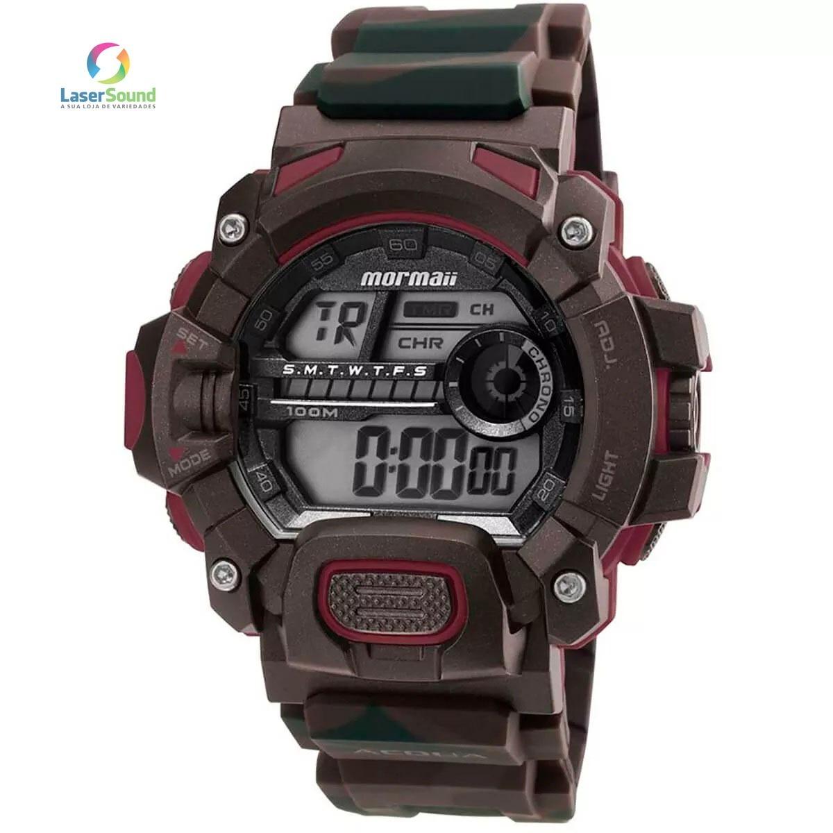 Relógio Mormaii Masculino Mo1132af 8m, C  Garantia E Nf - R  199,00 ... 5b8a06a8bc