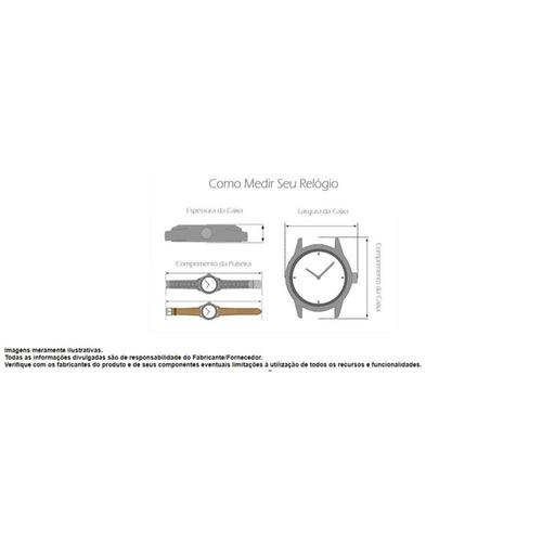 relógio mormaii masculino mo2035jm/1m c/ garantia e nf