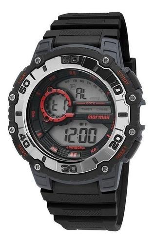 relógio mormaii masculino mo3261/8r