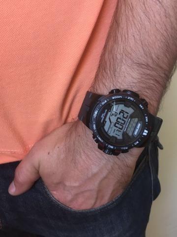relógio mormaii masculino mo3390/8r digital  de229 por129