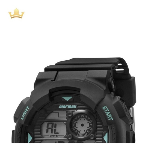 relógio mormaii masculino mo3415/8a c/ garantia e nf full