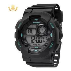 Relógio Mormaii Masculino Mo3415/8a Com Nf