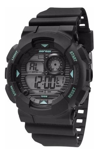 relógio mormaii masculino mo3415/8a digital azul oferta
