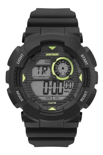 relógio mormaii masculino mo3415/8c digital verde oferta