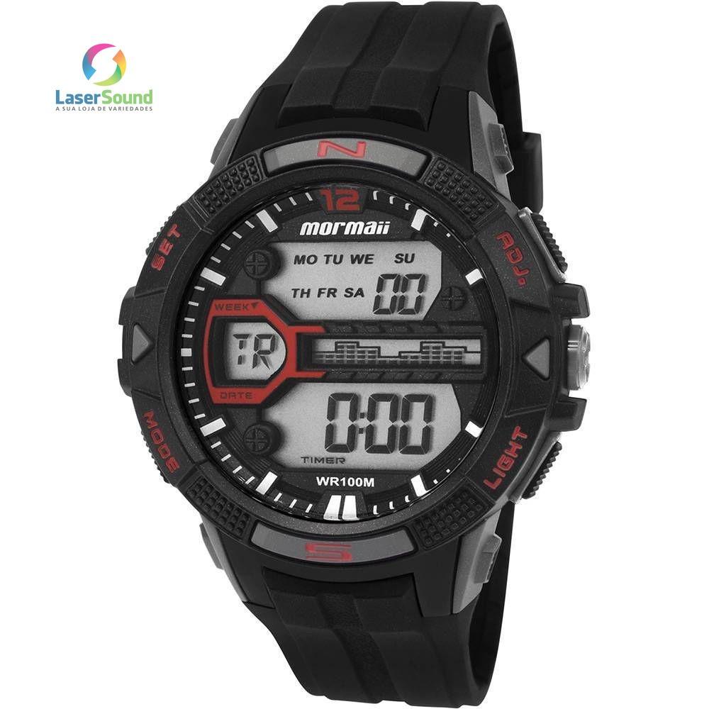 Relógio Mormaii Masculino Mo5000 8r, C  Garantia E Nf - R  146,00 em ... 5036b245dd