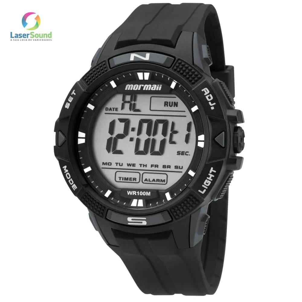 Relógio Mormaii Masculino Mo5001 8c, C  Garantia E Nf - R  159,00 em ... faefed4ebe