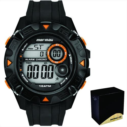 relógio mormaii masculino original garantia nf mo3415aa/8p