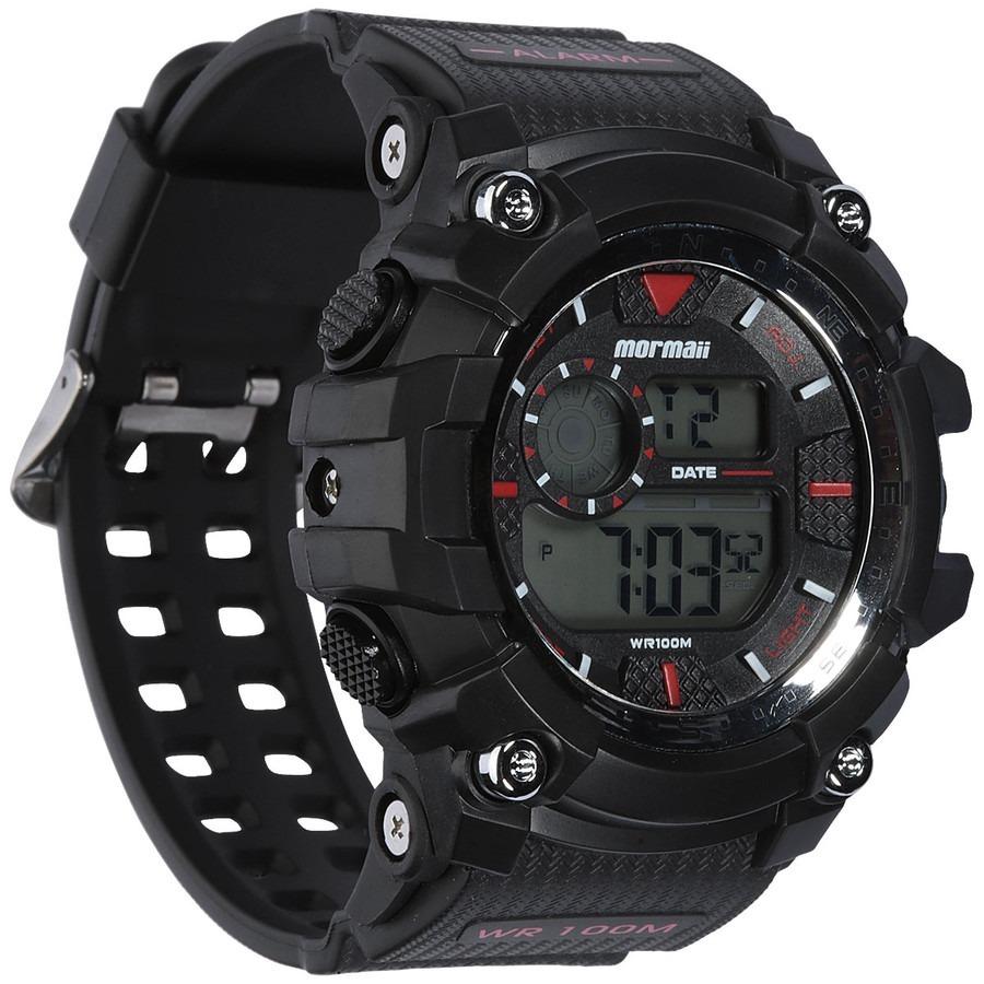 9ff191dd5 Relógio Mormaii Masculino Preto Digital Mo3530a/8r - R$ 155,00 em Mercado  Livre