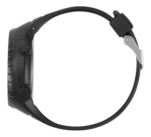 relógio mormaii masculino preto redondo - moy1554aa/8p