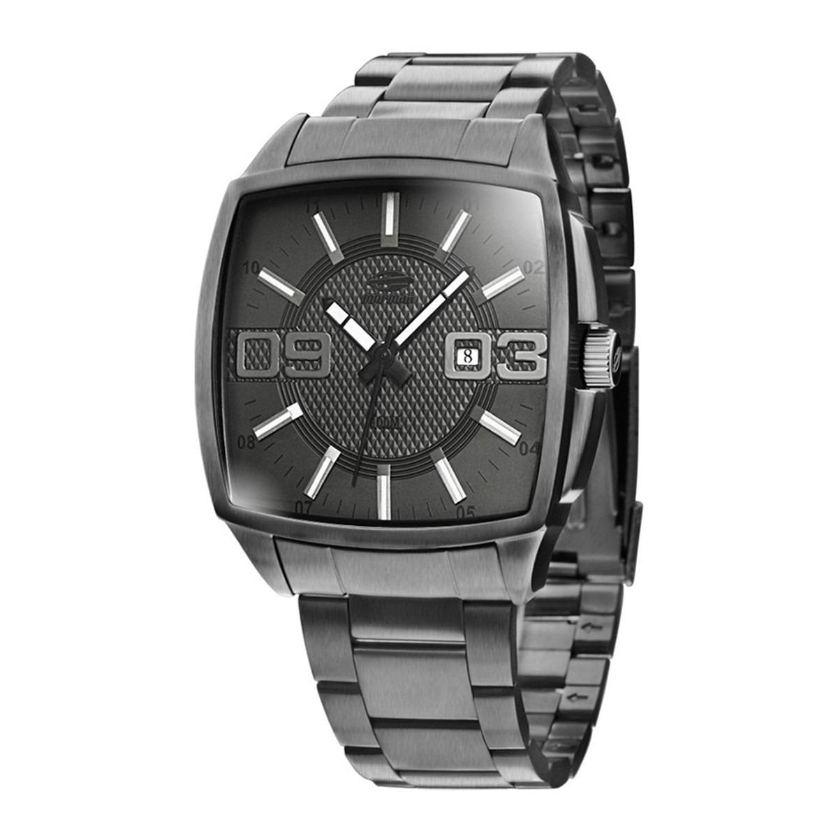 216e732b97c Relógio Mormaii Masculino Quadrado Esportivo 2115sv 1c - R  365