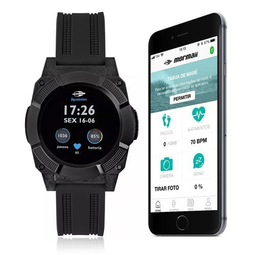9695da4bdff4a Relógio Mormaii Masculino Revolution Smartwatch Mosraa 8c - R  799 ...
