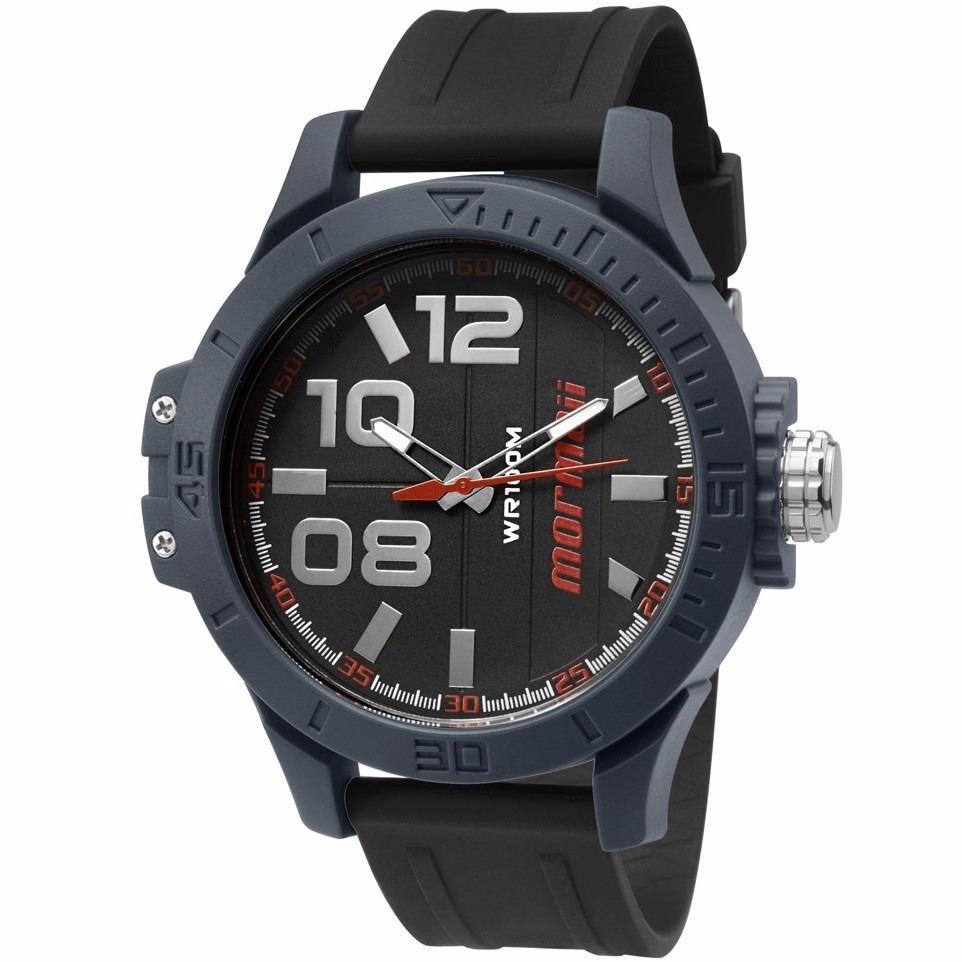 a5cc5eb55ec83 Relógio Mormaii Masculino Wave - Mo2035ic 8r - R  149