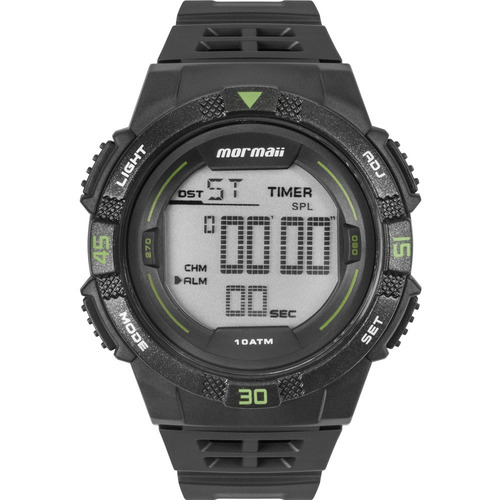 relógio mormaii masculino wave original garantia mo9100aa/8v