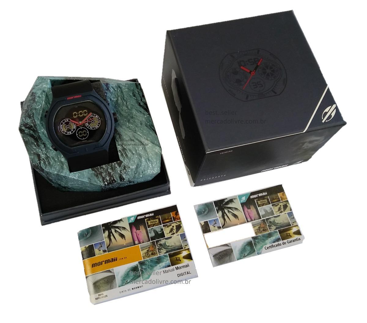 0c108ead3fe Relógio Mormaii Mo160323aj 8a Mo1608b 8c Mo160323al Pato - R  329