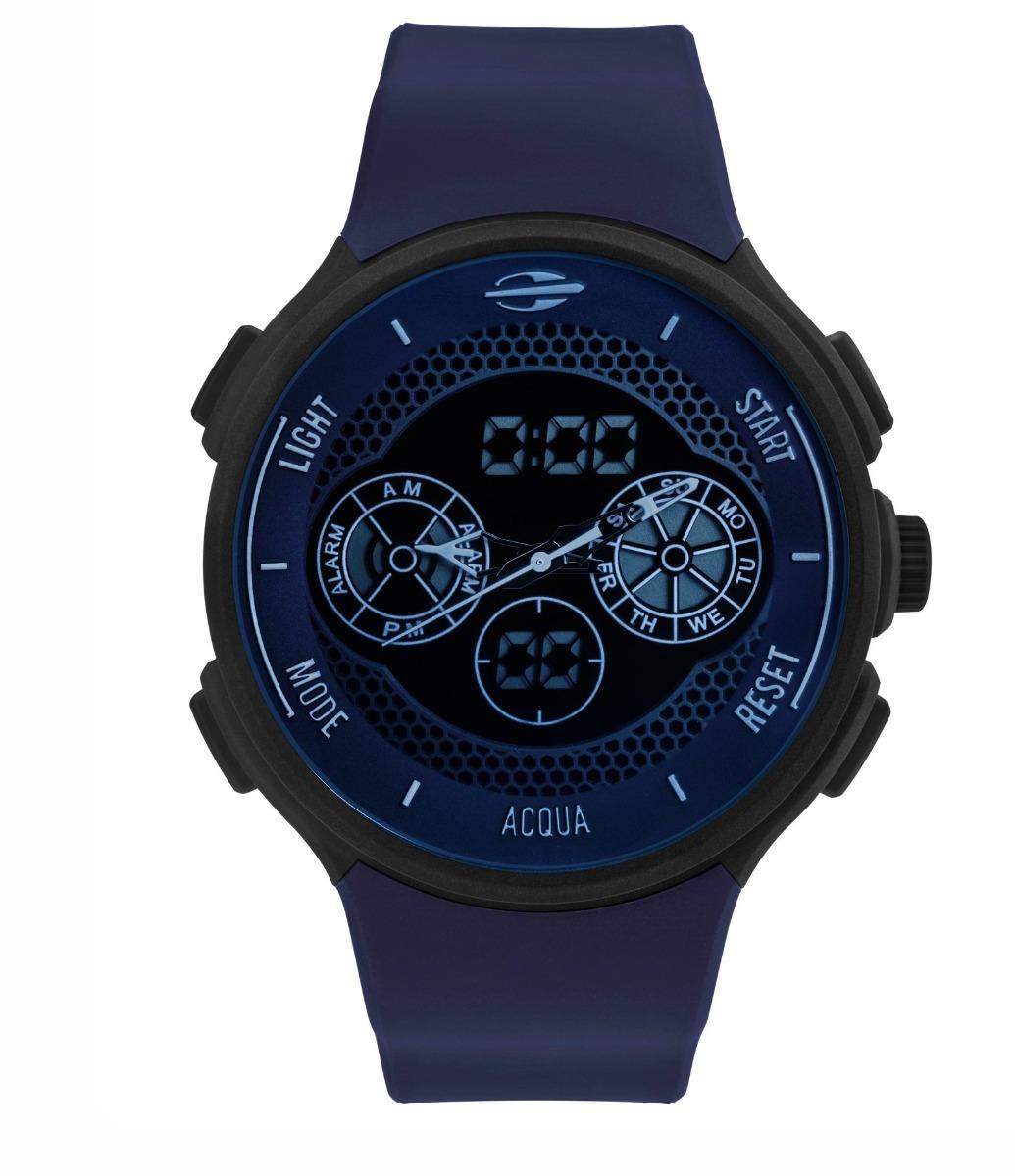 287e2d51ee596 Relógio Mormaii Mo1608b 8c Mo1608b 8c Mo160323al Silicone - R  329 ...