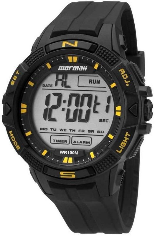 e043024cf7068 Relógio Mormaii Mo5001 8y Mo5001 8y Preto Casio G-shock - R  159