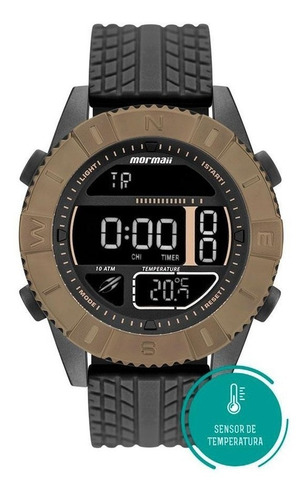 relógio mormaii mo5334ad/8p acquaforce temperatura