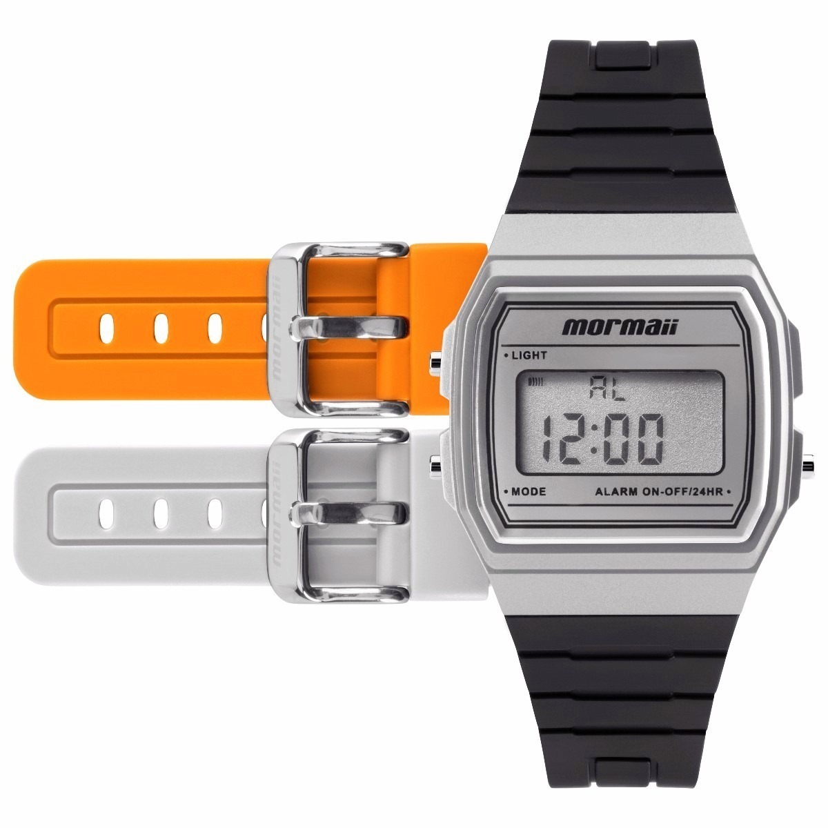 3d4e0b64a49d0 relógio mormaii mojh02ag 8k mojh02ag 8k troca fz pulseiras. Carregando zoom.
