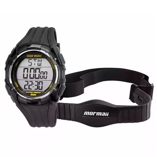 07d3ed302a6 Relógio Mormaii Monitor Cardíaco Masculino Mo11558a 8a - R  299