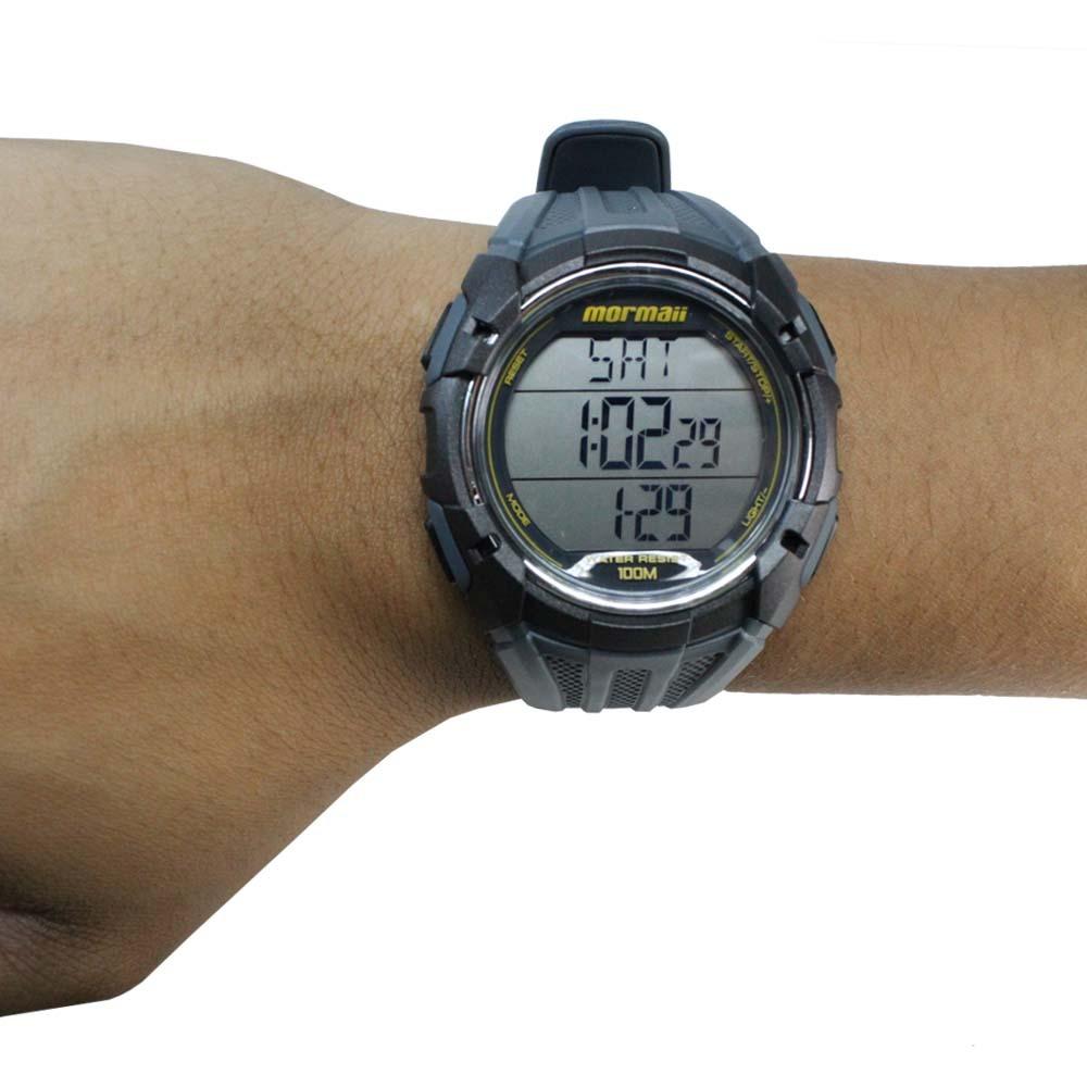 1435b90a4bb relógio mormaii monitor cardíaco masculino mo11558a 8a. Carregando zoom.