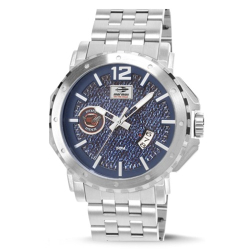 a89338e1d8364 Relógio Mormaii On The Road Jeans Mo2315aar 3a - Autorizada - R  248 ...