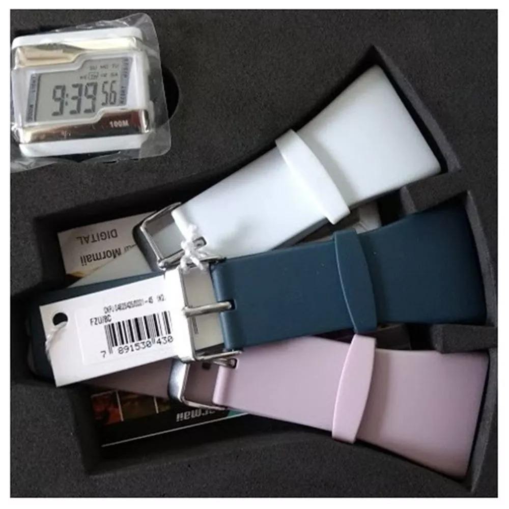 4dc92903db9cc Relógio Mormaii Puls Plast - Fzu 8c Original - R  60,00 em Mercado Livre