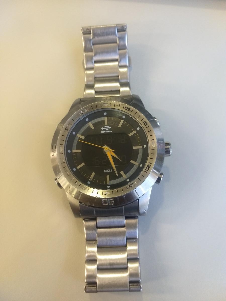 Relógio Mormaii Qg158aa Qg158aa 1p - R  180,00 em Mercado Livre a843886aef