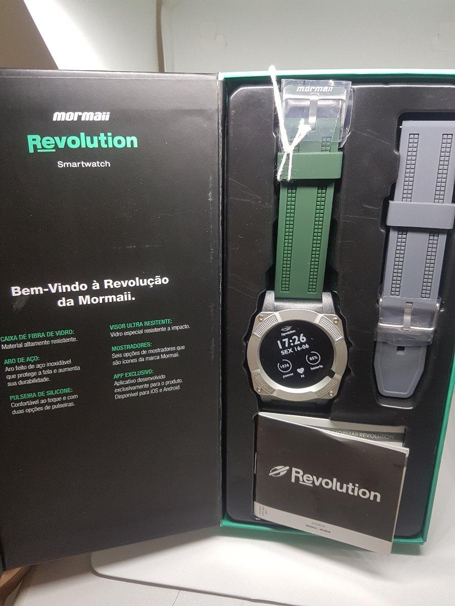 a9d3177d7117b relógio mormaii revolution masculino smartwatch mosraa 8c. Carregando zoom.