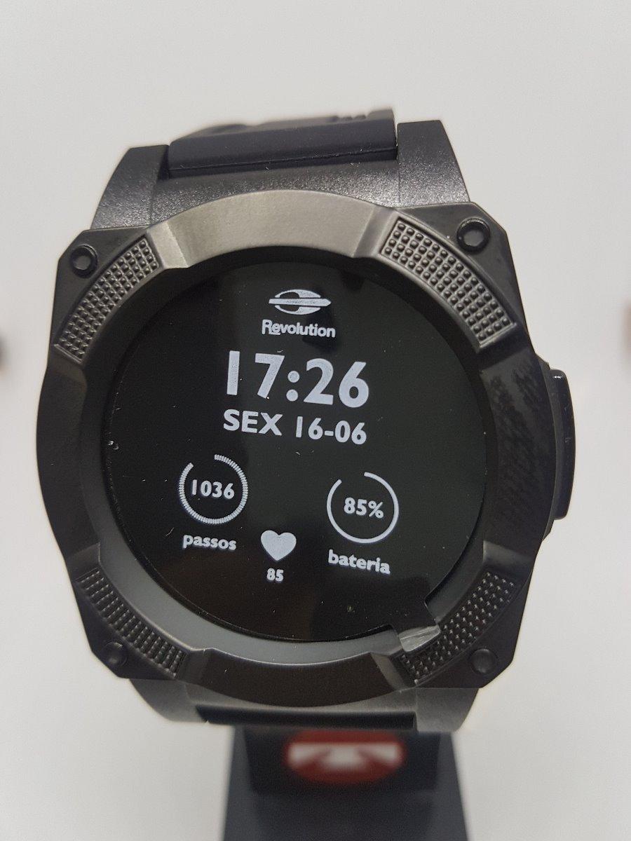 relógio mormaii revolution smartwatch touch mosrab 8p preto. Carregando  zoom. 933faa8145