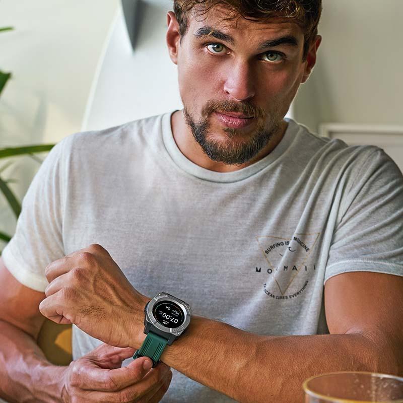 3d22300b25868 relógio mormaii smartwatch revolution mosrab 8p un - preto e. Carregando  zoom.