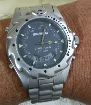 relógio mormaii technos chicama excelente estado revisado na technos/ sp