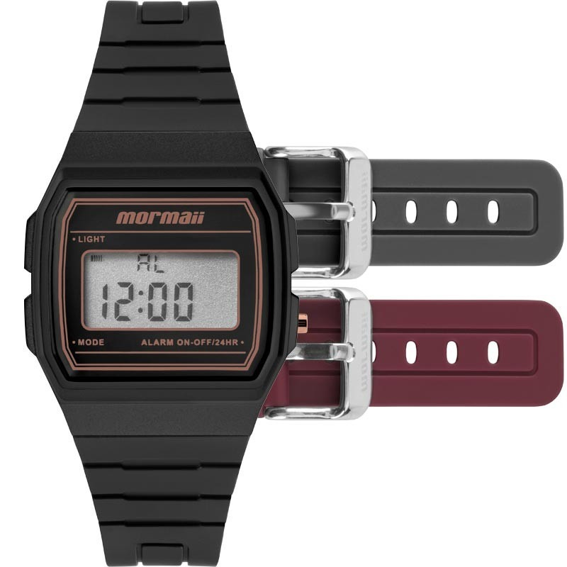 17cd57d15d7 relógio mormaii troca pulseira mojh02an 8j. Carregando zoom.